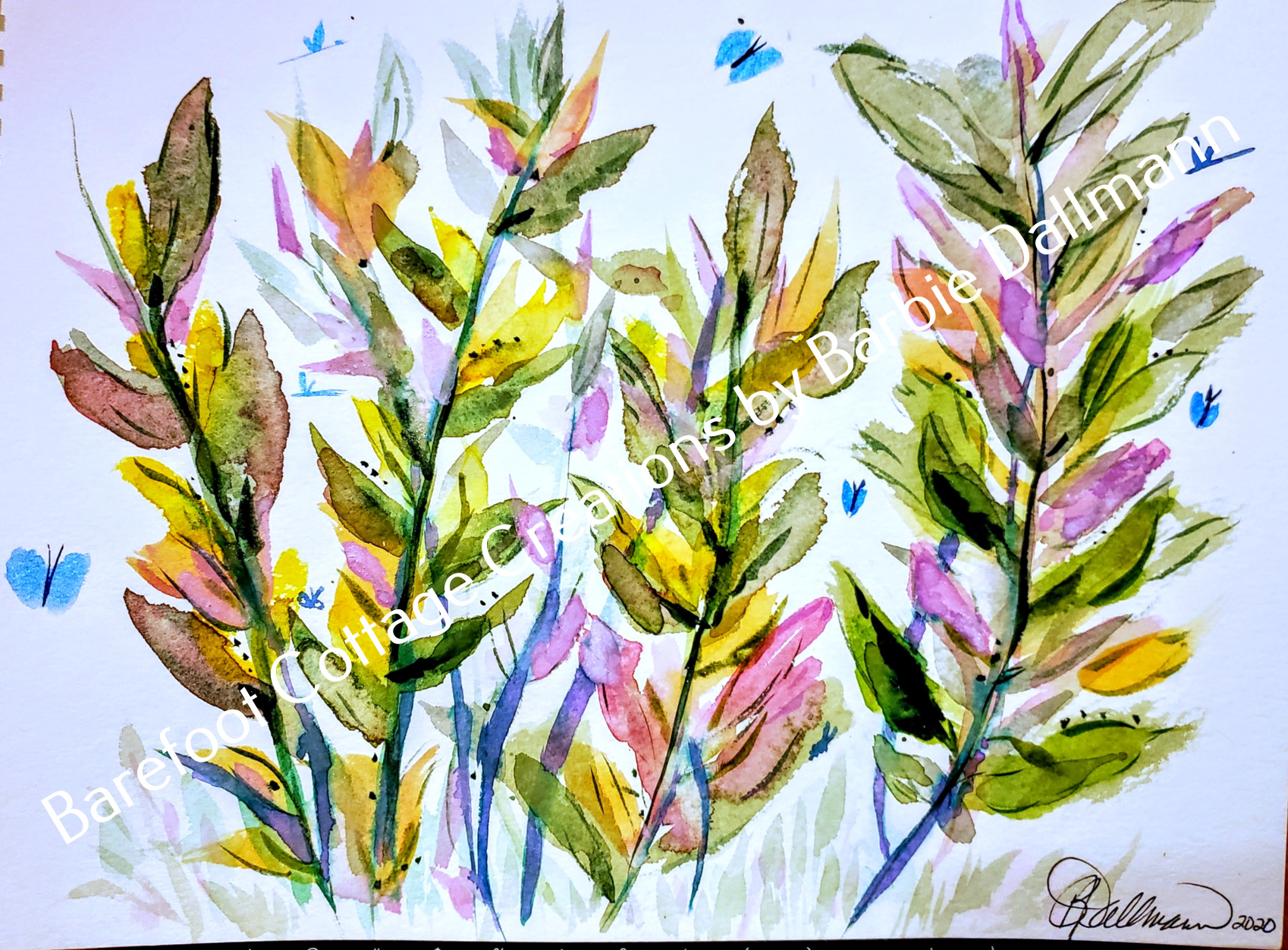 09 - Loose Florals